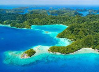 Krásný výhled na souostroví Palau | shalamov/123RF.com
