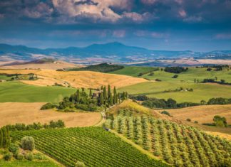Malebná krajina Toskánska v Itálii | jakobradlgruber/123RF.com
