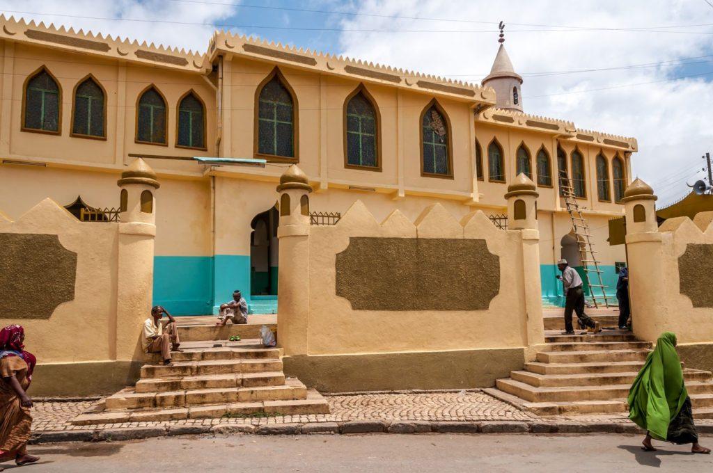Mešita v etiopském městě Harar | milosk/123RF.com