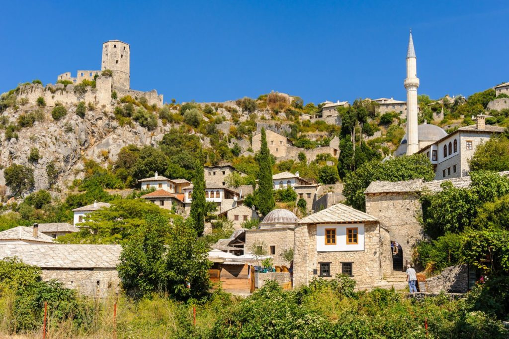 Městečko Pocitelj v Bosně a Hercegovině | mikepaschos/123RF.com