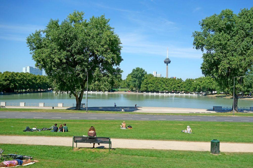 Městský park v Kolíně nad Rýnem | blackosaka/123RF.com