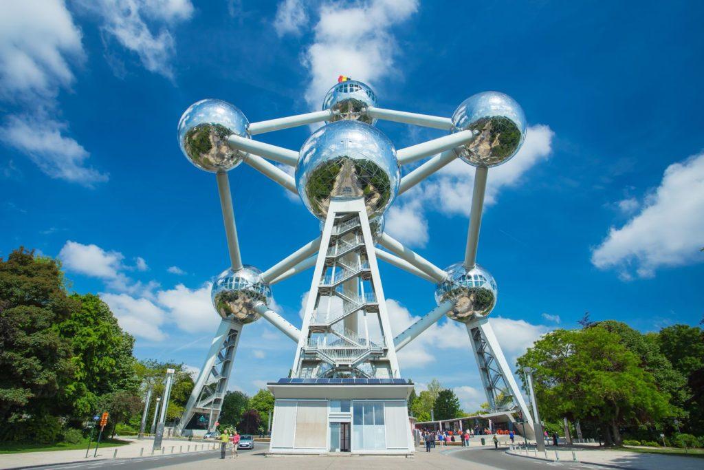 Model Atomium v Bruselu | orpheus26/123RF.com