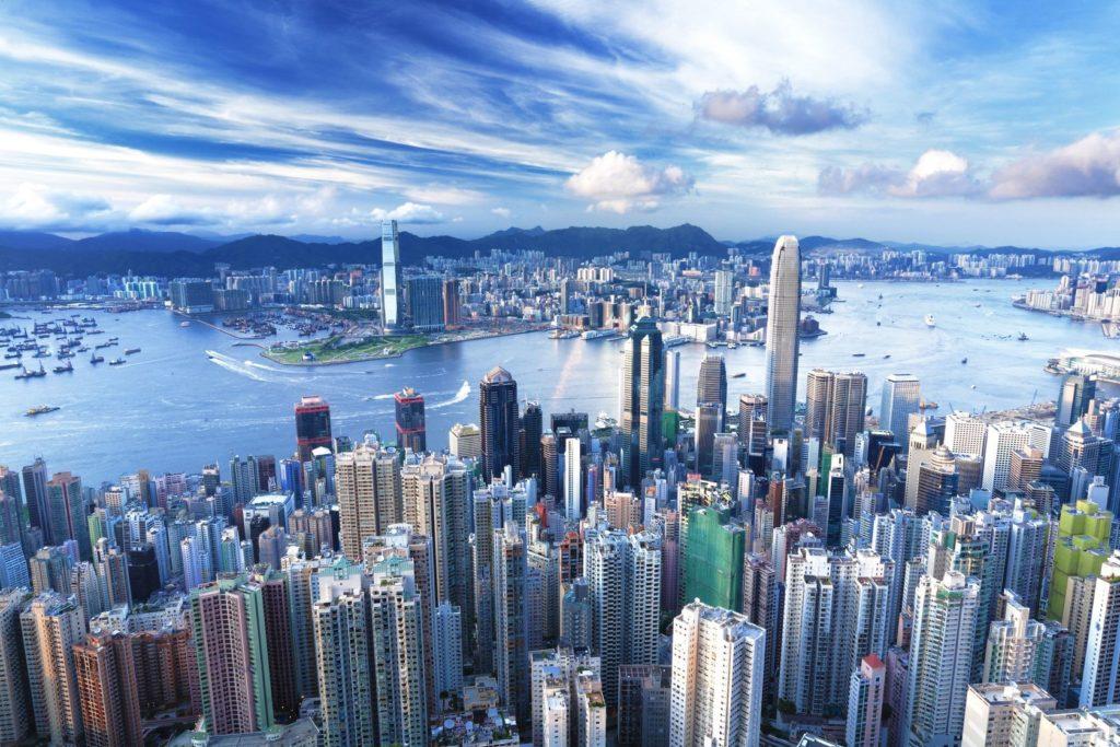 Moderní čínské město Hongkong | leungchopan/123RF.com