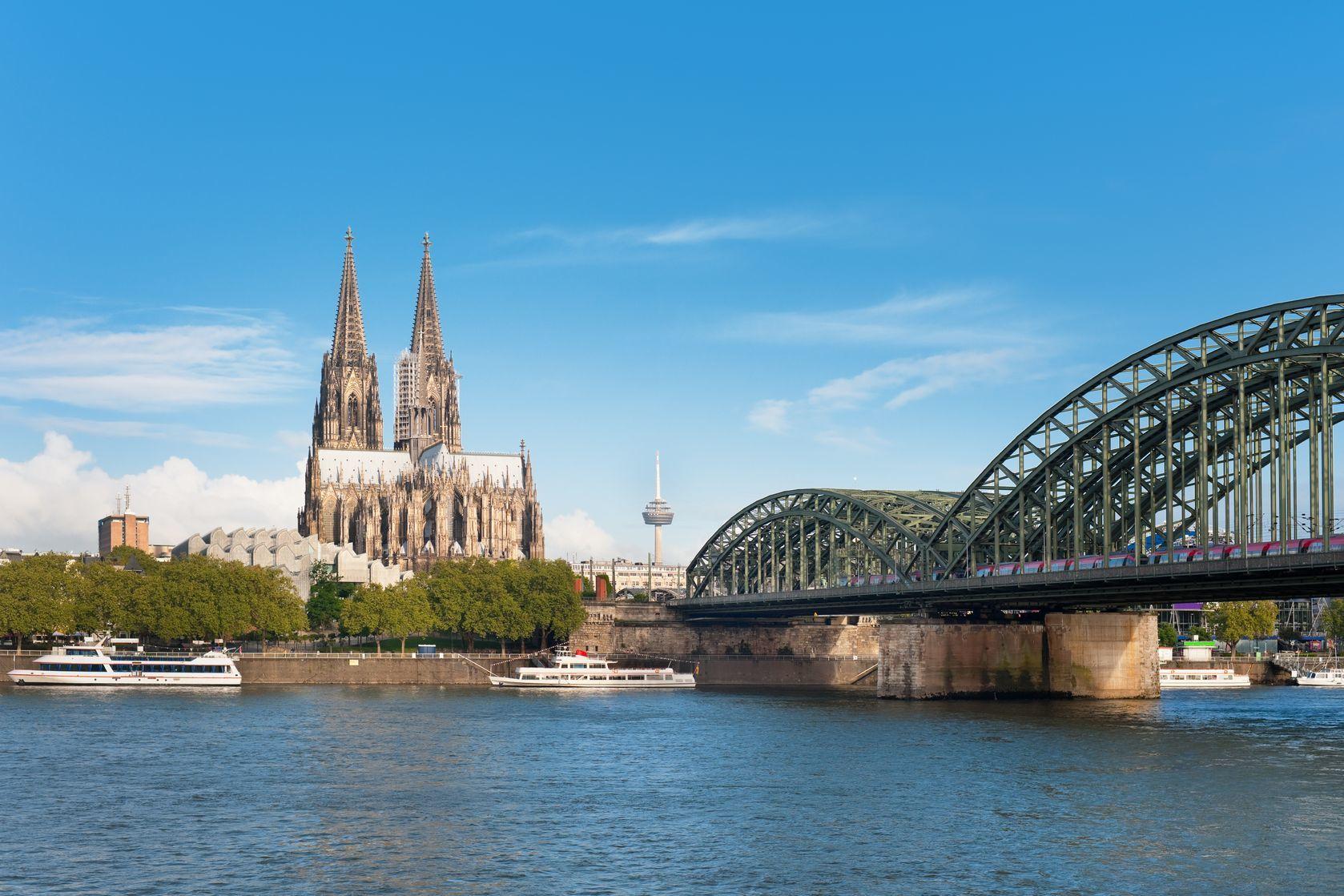 Nádherný výhled na Kolín nad Rýnem | sergein/123RF.com