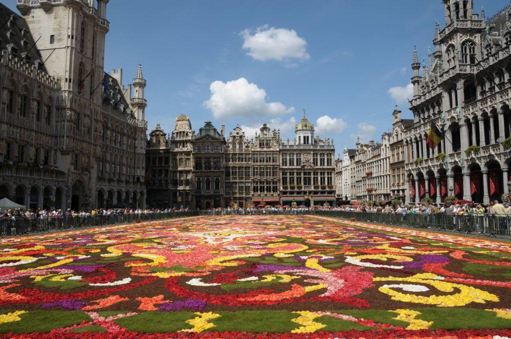 Náměstí Grand Place v Bruselu | skyfish555/123RF.com