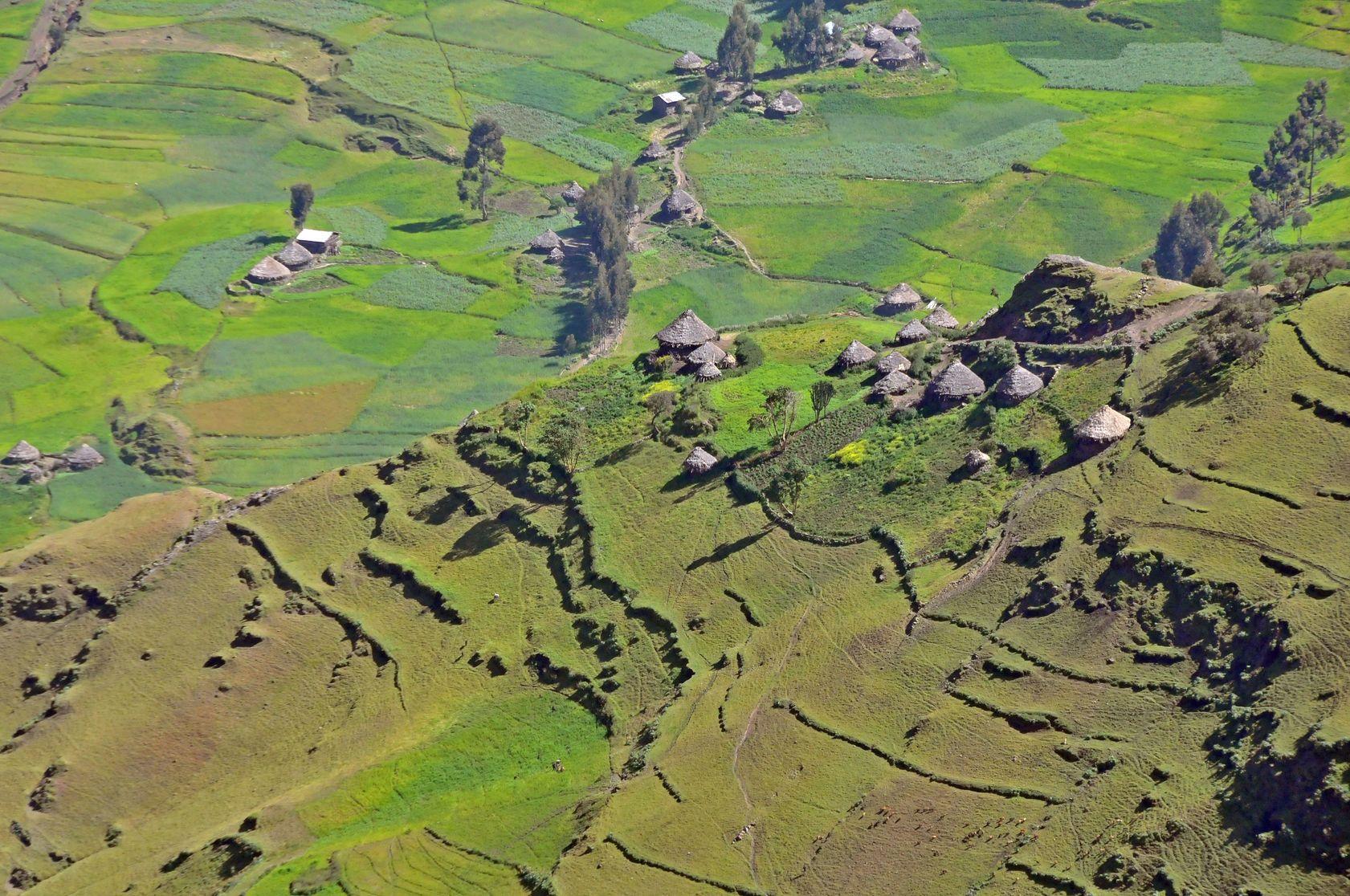 Národní park Simienské hory v Etiopii | bluerain22/123RF.com