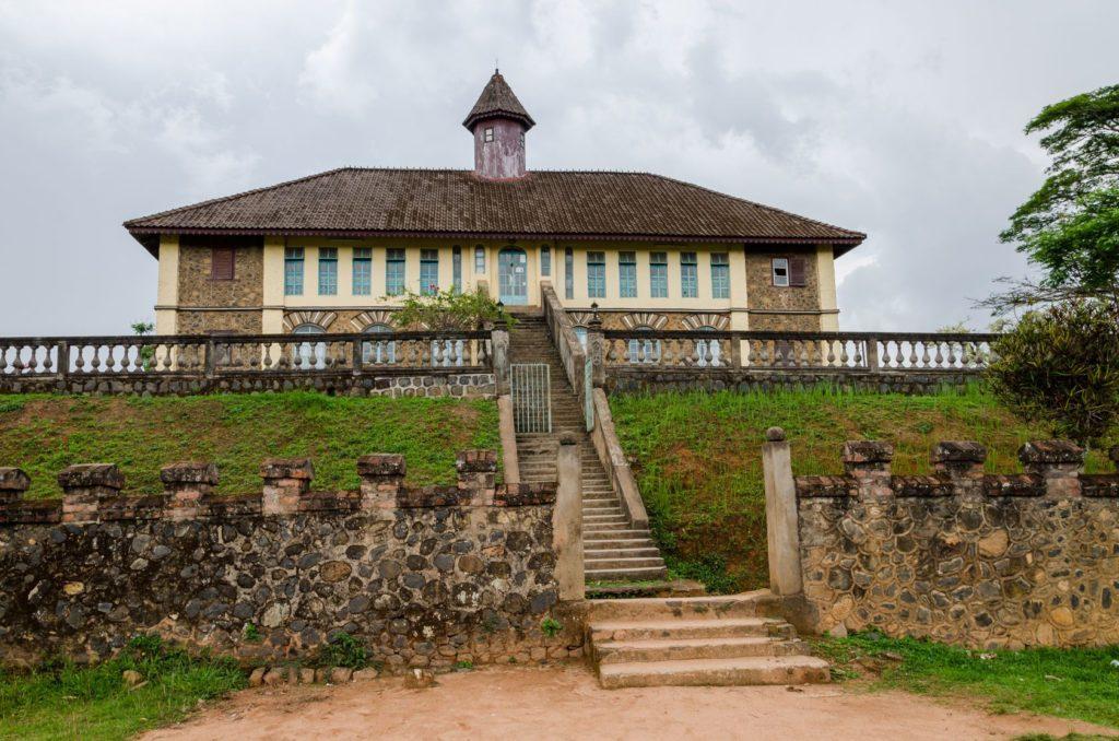 Palác Bafut v Kamerunu   wootan51/123RF.com