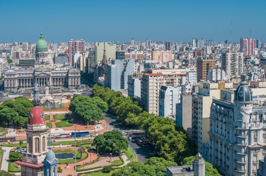 Panorama Buenos Aires v Argentině | javarman/123RF.com