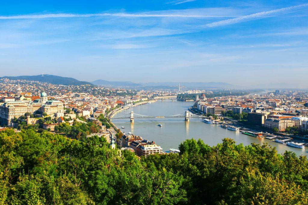 Panorama maďarského hlavního města Budapešť | aiaikawa/123RF.com