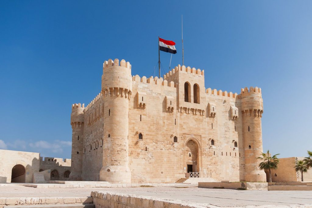 Pevnost Qaitbay v Alexandrii | aksenovko/123RF.com