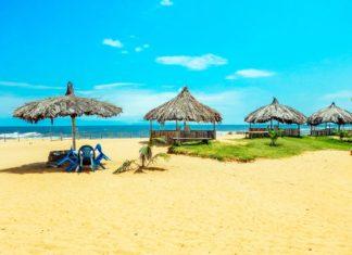 Pláž na pobřeží města Monrovia v Libérii | konoplizkaya/123RF.com