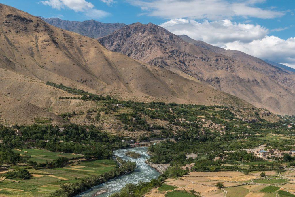 Pohled na afghánské údolí Panjshir | pursche/123RF.com