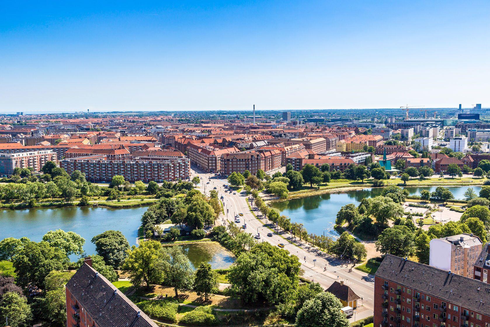 Pohled na dánské hlavní město Kodaň | bloodua/123RF.com