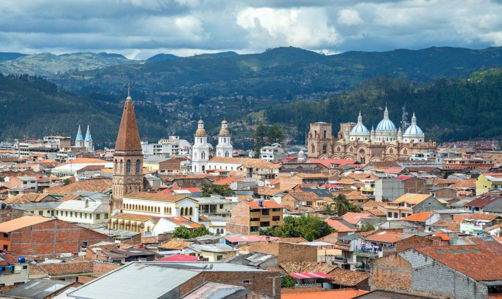 Pohled na město Cuenca v Ekvádoru | alanbrote/123RF.com