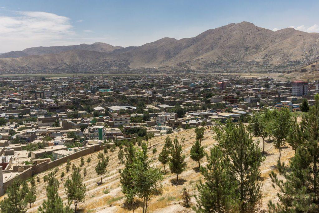 Pohled na město Kábul v Afghánistánu | pursche/123RF.com