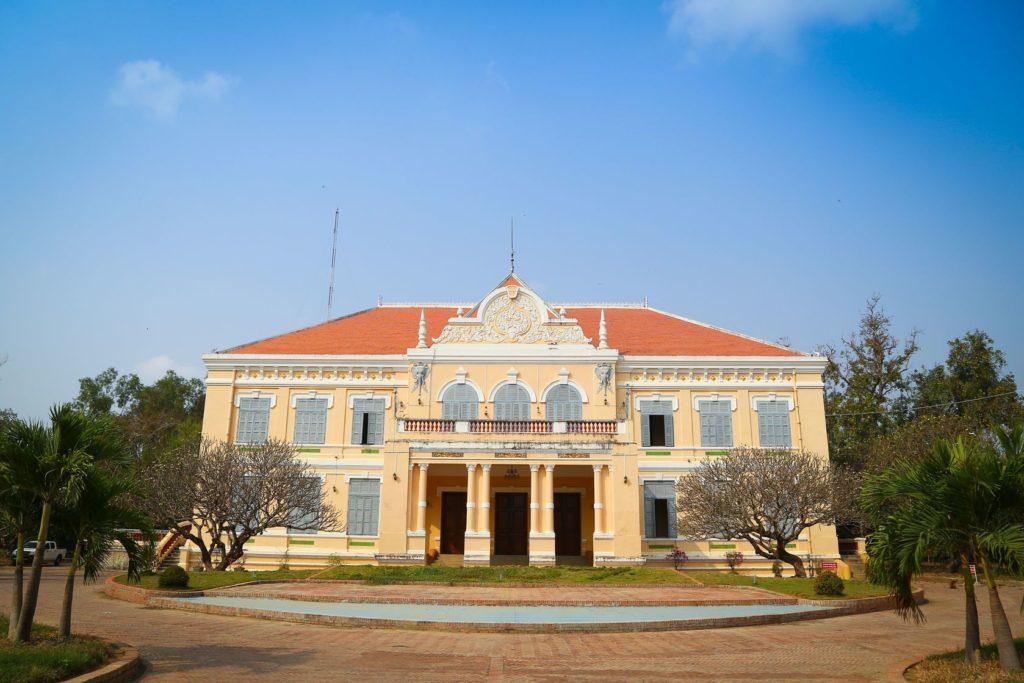 Provinční síň v Battambang v Kambodže | naveebird/123RF.com