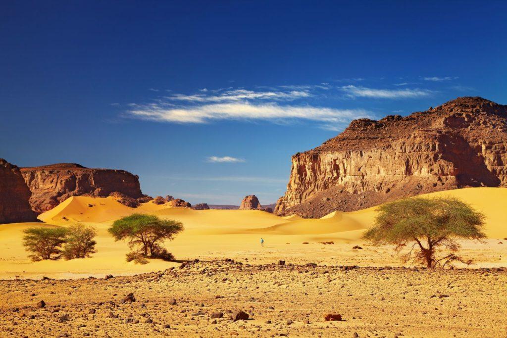 Saharská poušť v Alžírsku | muha/123RF.com