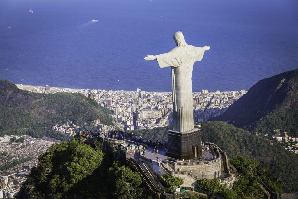 Socha Krista Spasitele v Rio de Janeiro   marchello74/123RF.com