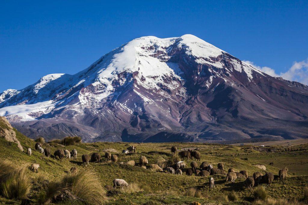 Sopka Chimborazo v Ekvádoru | ecuadorpostales/123RF.com