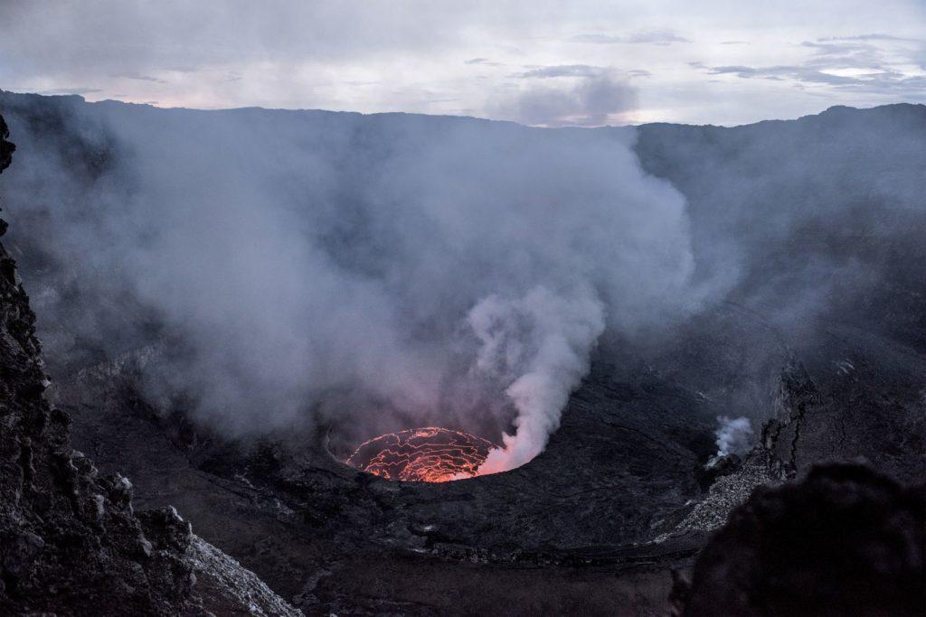 Sopka Nyiragongo v Demokratické republice Kongo | Isselee/123RF.com