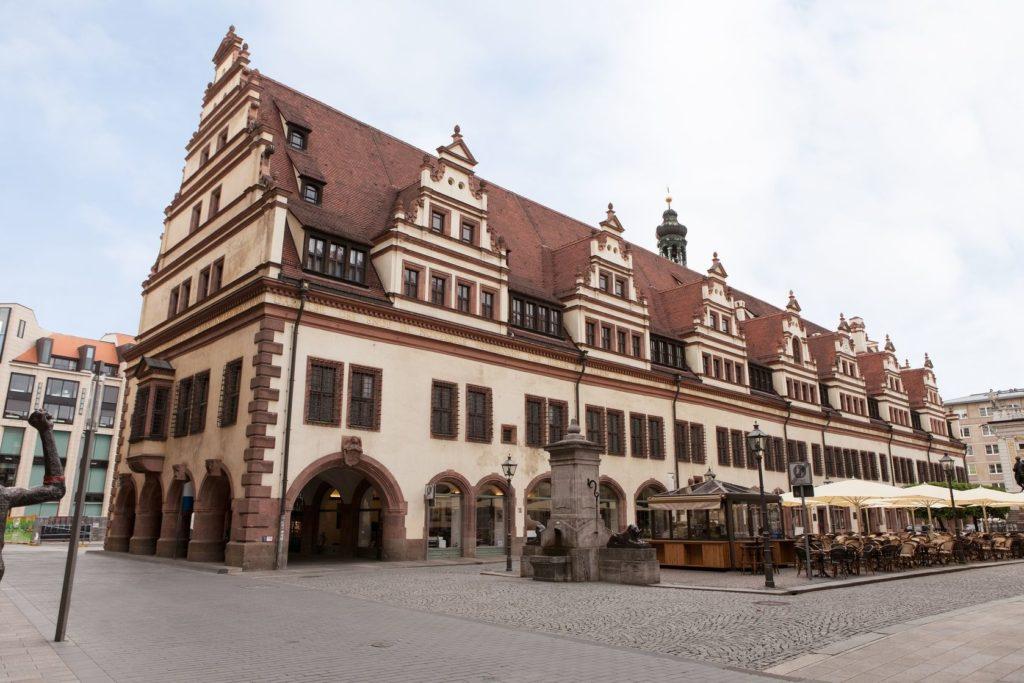 Stará radnice v německém Lipsku | andreypopov/123RF.com