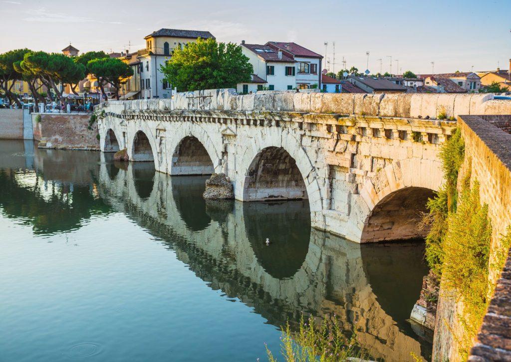Tiberiův most v Rimini | alan64/123RF.com
