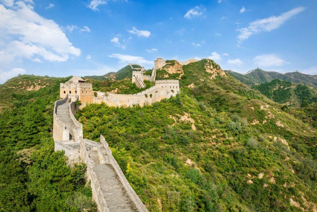 Velká čínská zeď v okolí Pekingu v Číně | zhaojiankangphoto./123RF.com