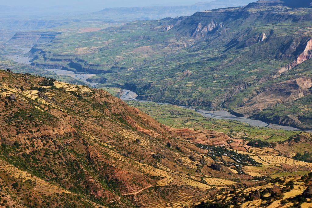 Velká příkopová propadlina v Etiopii | lucaar/123RF.com