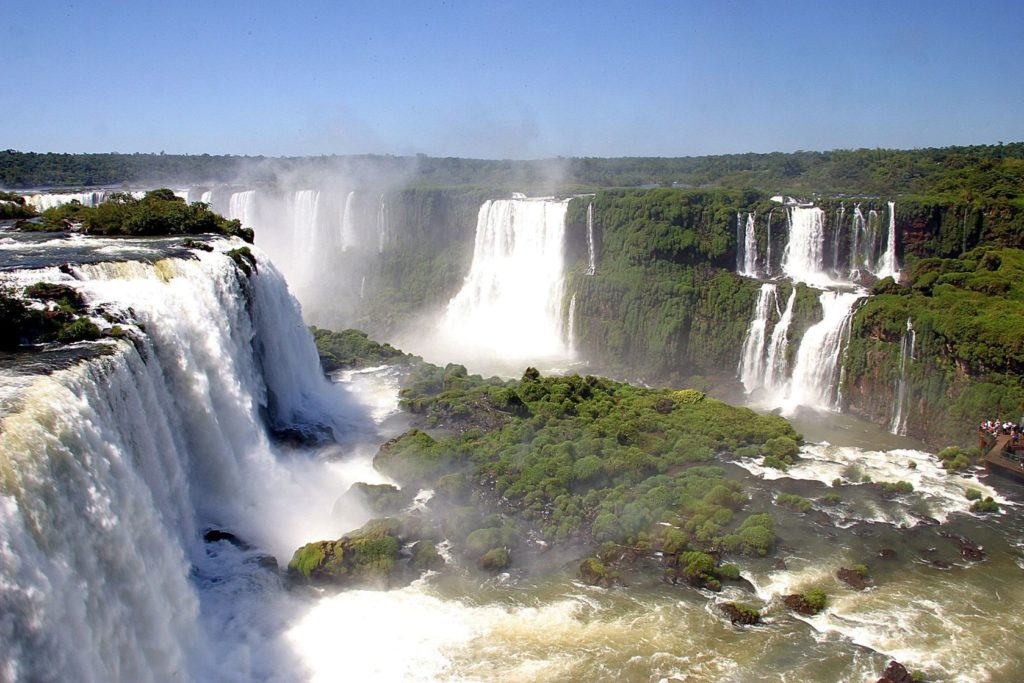 Vodopády Iguacu v Brazílii   casadaphoto/123RF.com