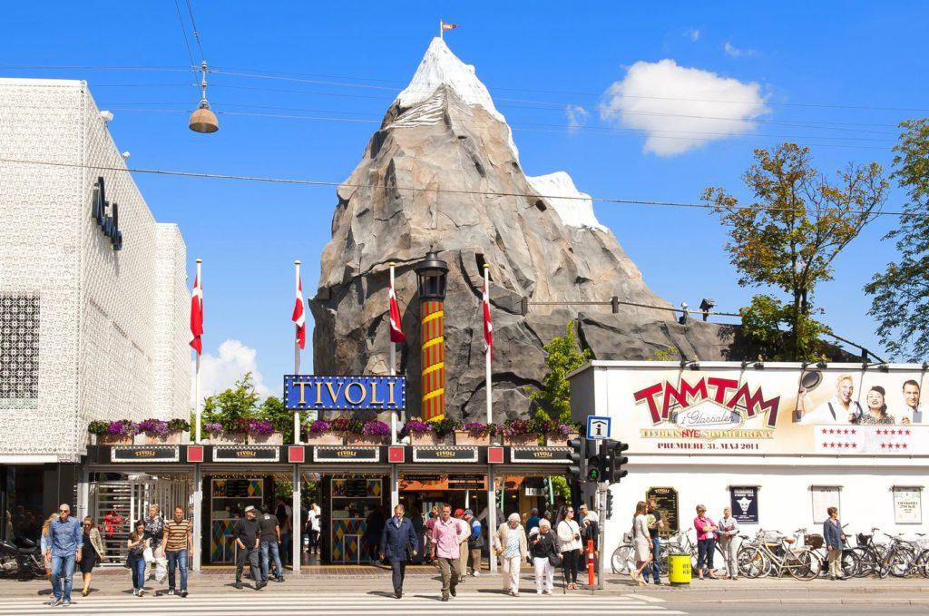 Zábavní park Tivoli v Kodani | 123rfaurinko/123RF.com