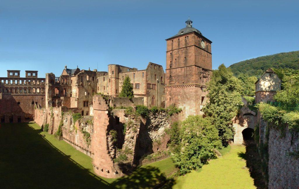 Zámek v Heidelbergu v Německu | anweber/123RF.com