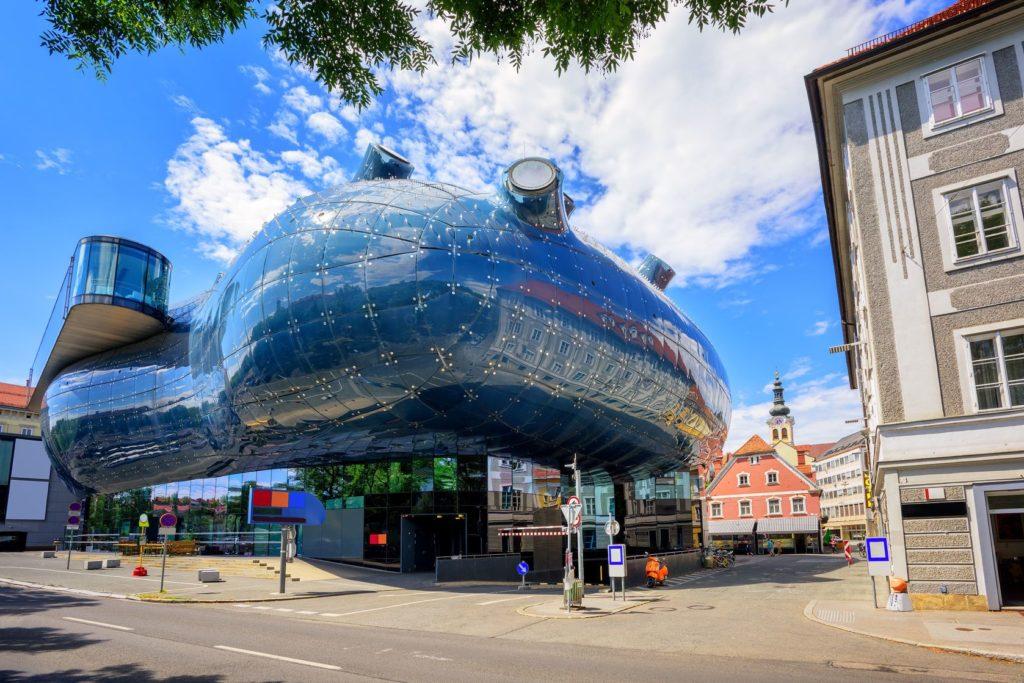 Galerie Kunsthaus v Grazu | atomdruid/123RF.com