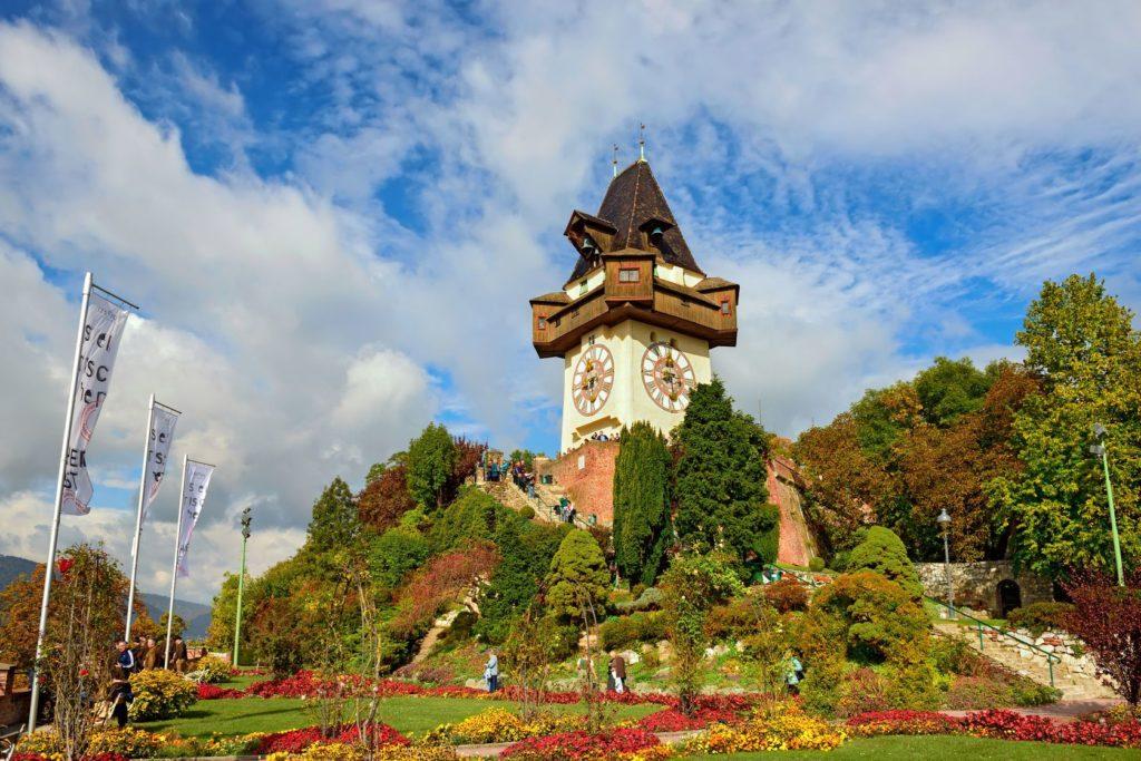 Hodinová věž v rakouském Grazu | balakate/123RF.com