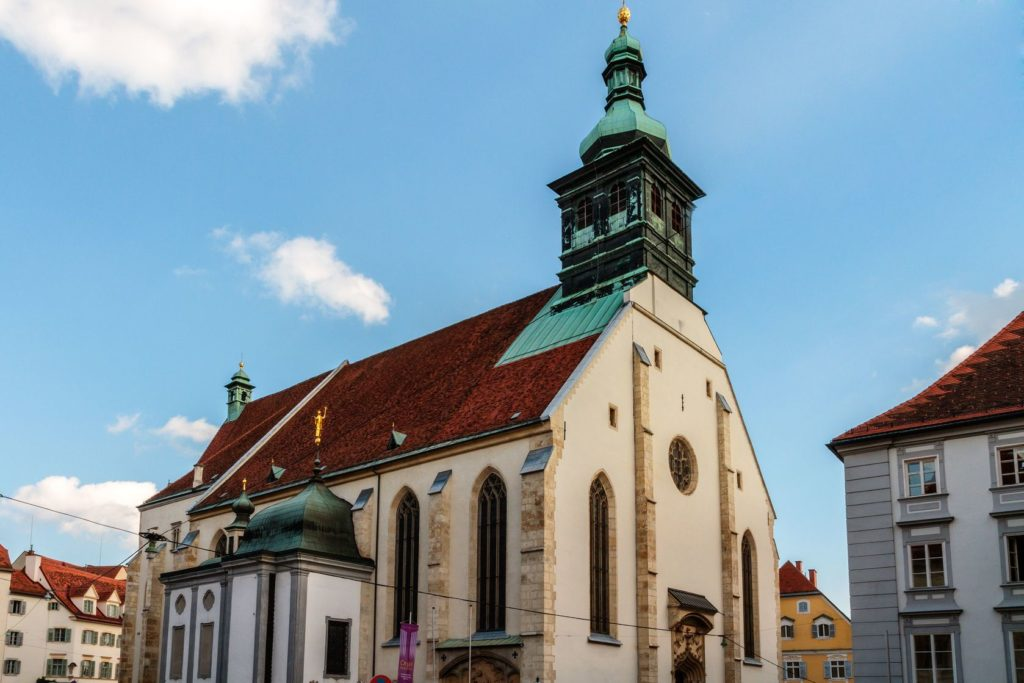 Katedrála svatého Jiljí v Grazu | andiz/123RF.com