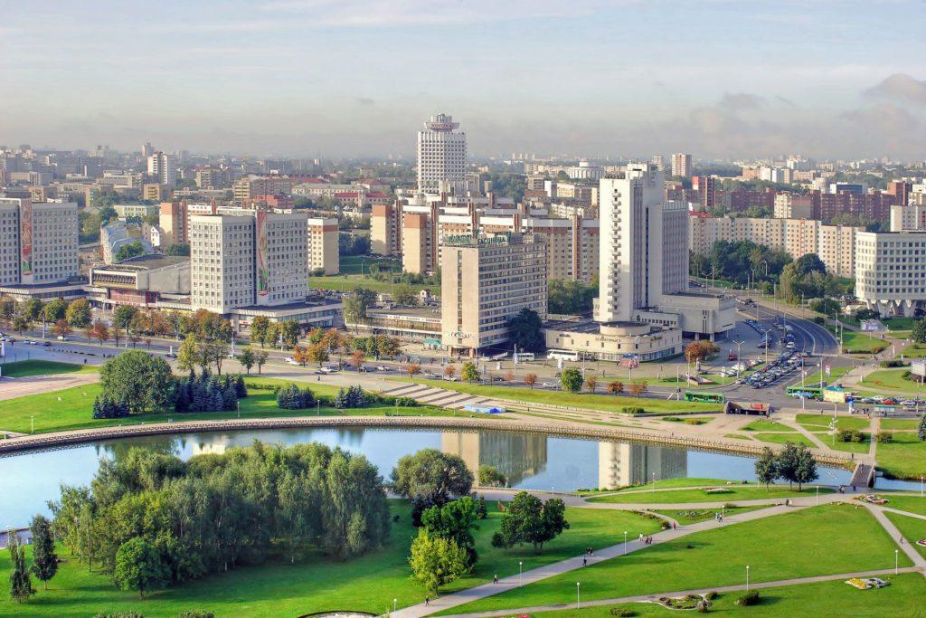 Panorama běloruského města Minsk | ppl58/123RF.com