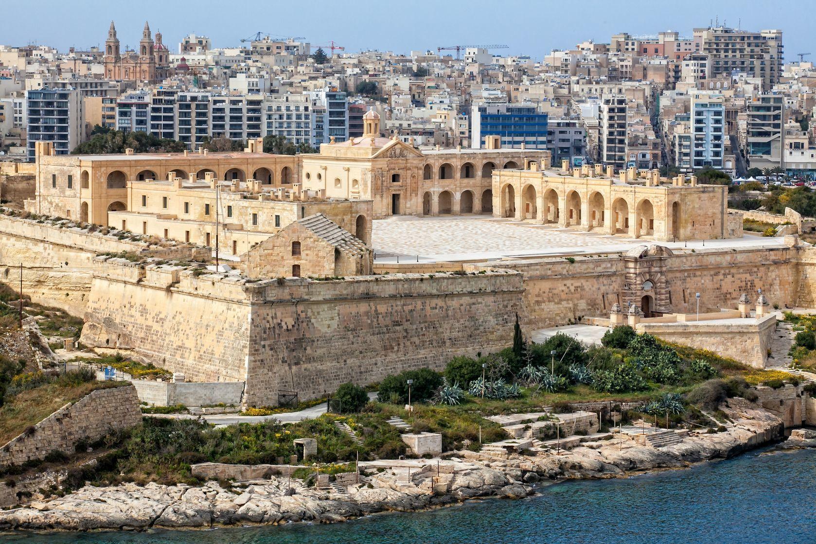 Pevnost Manoel ve Vallettě | Maltaguy1/123RF.com