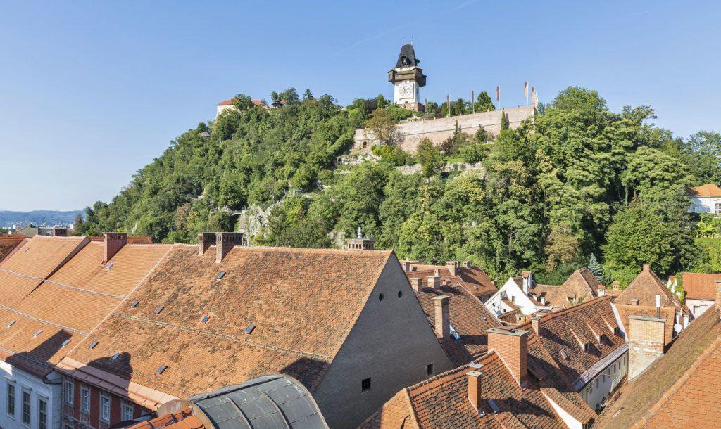 Schlossberg v rakouském Grazu | panama7/123RF.com