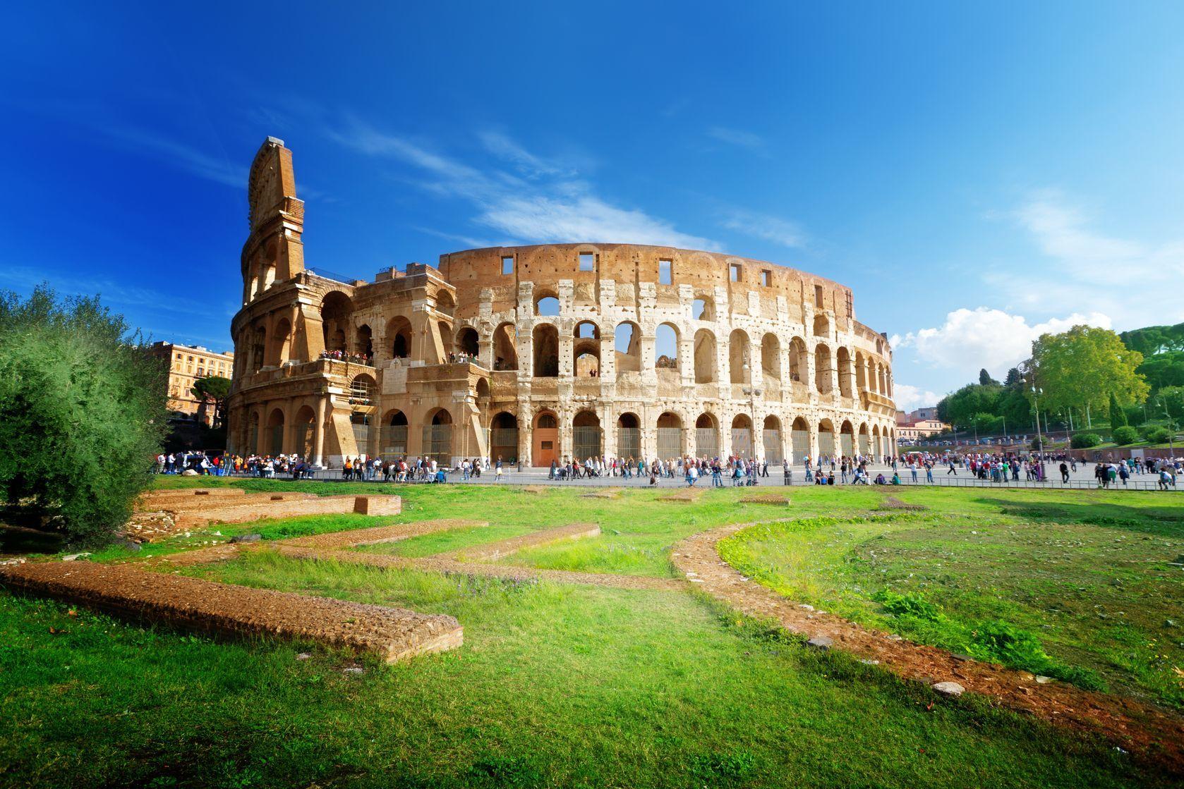 Koloseum v italském Římě | iakov/123RF.com