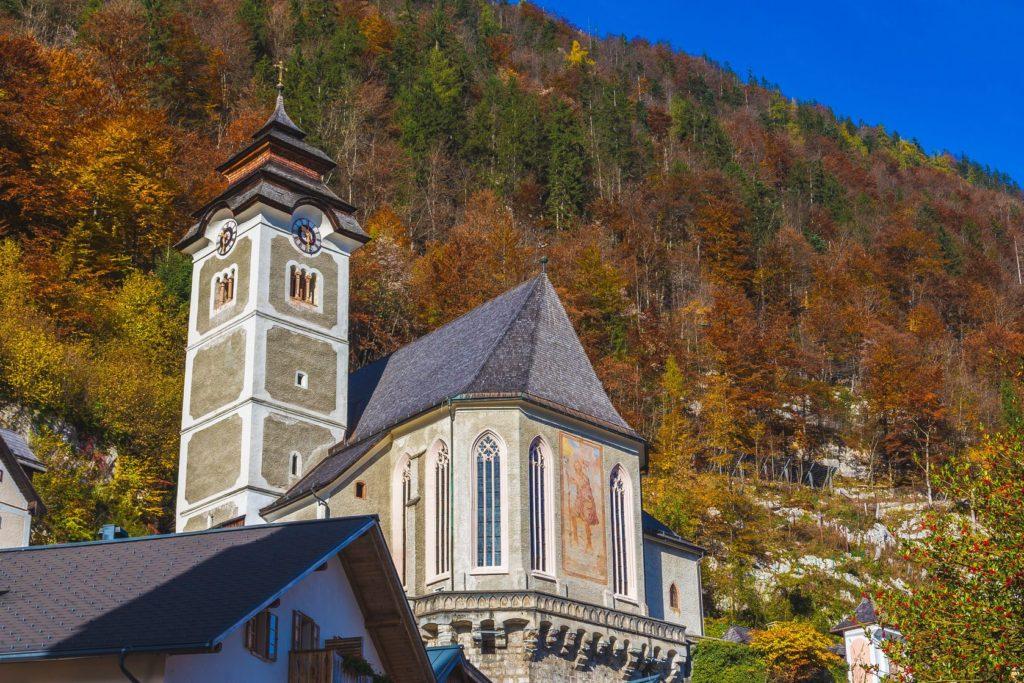 Kostel Nanebevzetí Panny Marie v Hallstattu | macfromlondon/123RF.com