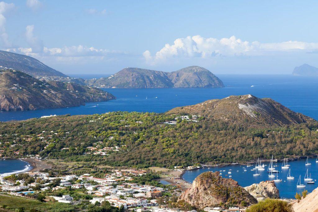 Krajina italského ostrova Lipari | markusgann/123RF.com