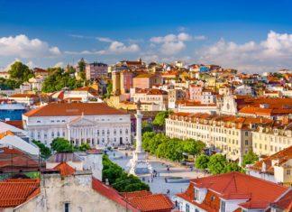 Výhled na náměstí Rossio v Lisabonu | sepavo/123RF.com